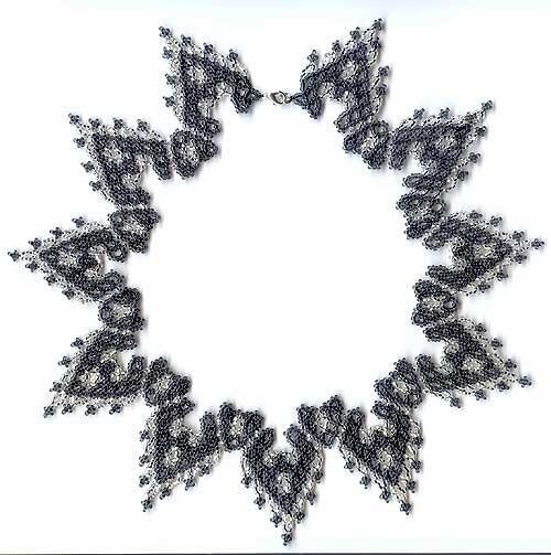 ожерелье из бисера схемы из книги.